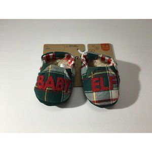 Dearforms Baby Elf Flannel & Fur Infant Slippers 3